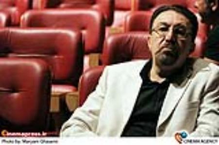 ناصر چشم آذر آهنگساز در مراسم چهاردهمین جشن بزرگ سینمای ایران