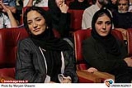 باران کوثری و نگار جواهریان در مراسم چهاردهمین جشن بزرگ سینمای ایران
