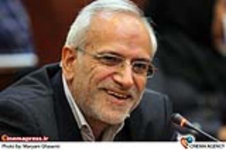 مسعود شاهی مدیر جشنواره ها در  مراسم تودیع و معارفه مدیران جدید معاونت سینمایی
