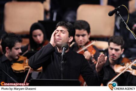 محمد معتمدی در کنسرت ارکستر ملی به رهبری بردیا کیارس