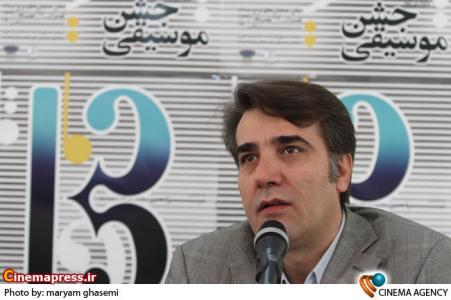 حمیدرضا نوربخش مدیر عامل خانه موسیقی در نشست خبری