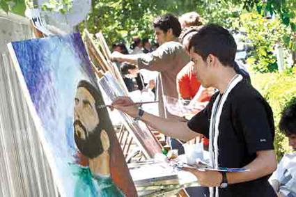 کارگاه نقاشی سالروز آزادسازی خرمشهر