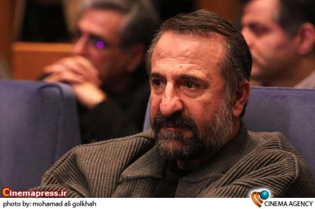 مهران رجبی در اختتامیه نخستین جشنواره تولیدات تلویزیونی جام جم